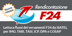 F24 Rendicontazione